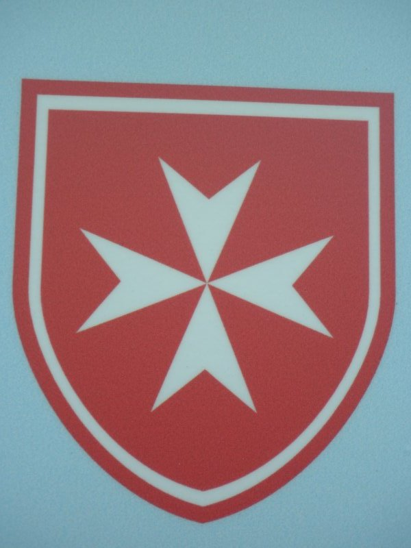 l\'emblème de l\'ordre de Malte